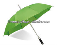 auto open aluminium frame good quality staight umbrella and parasol