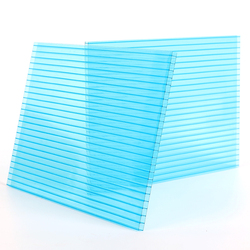 Hollow Polycarbonate Sheet/ PC Sheet Bayer for plastic roof gazebos