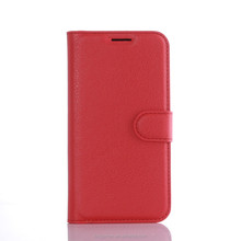 Lucky Chinese Red Leather Smart Mobile Phone Cover Case - Waterproof Stand Flip Shell Case for S7 Edge