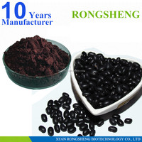 Factory Supply 100% Natural Black Bean Extract