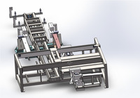 Stainless Steel Edge Trimming Machine/Wood Pallet Sawing Machine