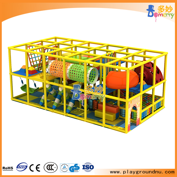 Innovation indoor wooden playground slide kids indoor playset
