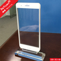 Iphone Plus Acrylic Display Stand With Magnet For Picture Insert