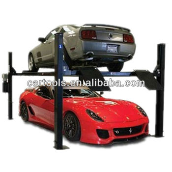 Vertical simple 4 post hoist car garage parking system(A)