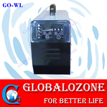 Hotel room sterilizer air odor remover ozone generator 2000mg with LCD control system