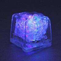 3.5CM 8 mode Multi-color LED Ice Light / Water-proof LED light up ice for drinks