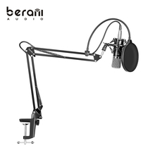 Top selling products in alibaba Berani blue studio condenser microphone suit BAM800
