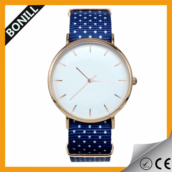 2016 Fashion fancy alloy case bracelet watch for women with stainless steel back ladies watch