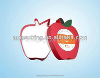 Apple Shape Set Up Paper Candy Box for Chocolate