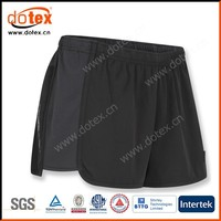 2016 moisture wicking dry rapidly sports womens polyester mesh shorts