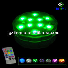 led mini submersible waterproof table light