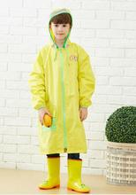 Kids Yellow Raincoat/ Waterproof Raincoat /Children Long Raincoat