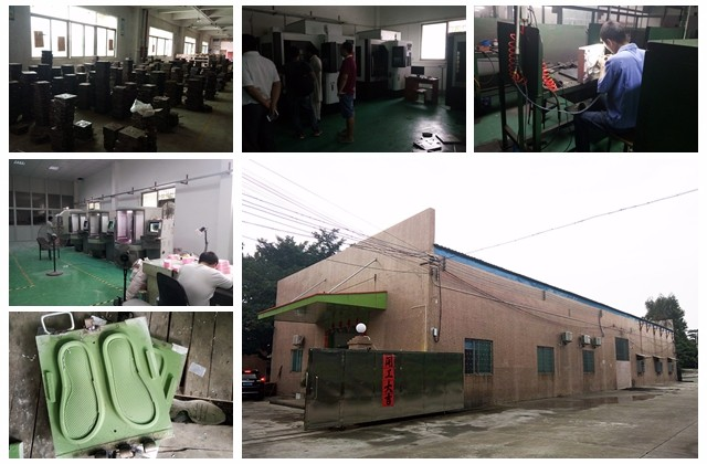 One Colors PVC/TPR Sole Making Machine