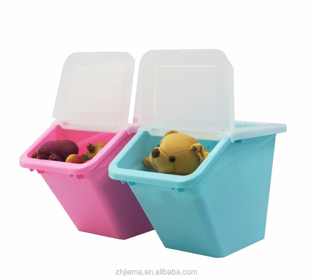 high quality <strong>plastic</strong> with lid clothing storage box