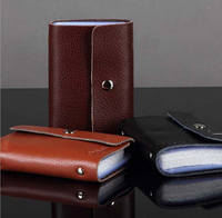Genuine leather different colors cheap Cash card Holder leather card case Pouch ID Credit Card Wallet