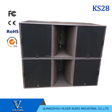 "KS28 Dual 18"" power outdoor long throw passive subwoofer"