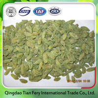 Xinjiang organic dried green raisins