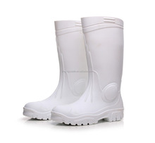2017 new design wellington boots,rubber rainboot,heavy white security boots men