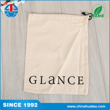 Fugang Reusable High Quality Eco Friendly Custom Shopping Cotton Drawstring Bag