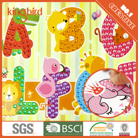 Eva Mosaic Stickers Kids Foam Craft Kits
