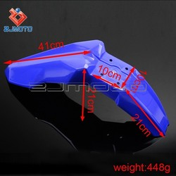 Motorcycle Supermoto Front Fender Plastic Mudguards Dirt Bike Wheel Fender Motocross Suitable to KTM Honda Suzuki Kawasaki