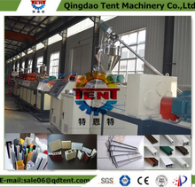 pvc profile extrusion machine/upvc windows production line/wpc window machinery