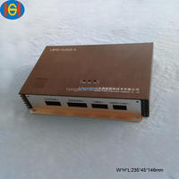 anodized automotive solar aluminum extrusion enclosure