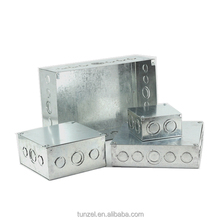 Electrical galvanized metal steeel junction box by Chinese supplier