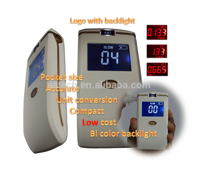 custom printed breathalyzer alcohol tester pft-65 With Stable Function