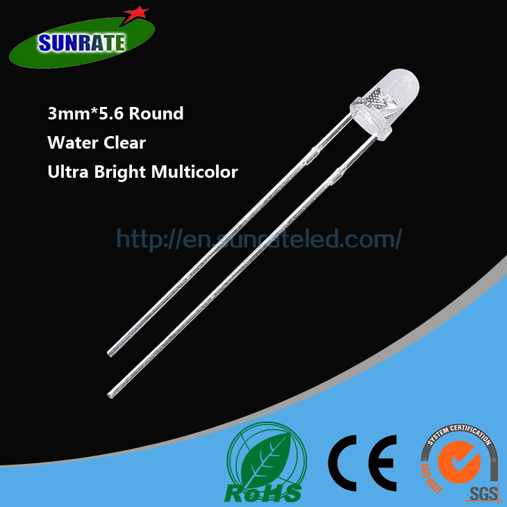7 Years Verified Supplier High Quality 3mm*5.6 round lamp led