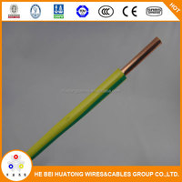 Cable manufacturer single core PVC insulated 2.5mm pvc copper wire BV electric wire for sale