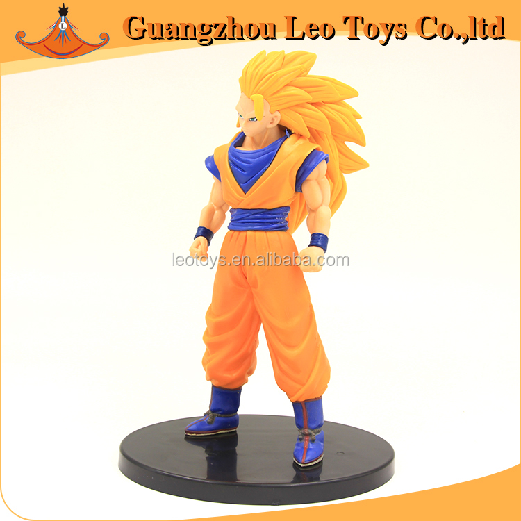 Hot Action Anime Characters Dragon Ball Z Super Saiyan DXF Collection Toy Manufacuter