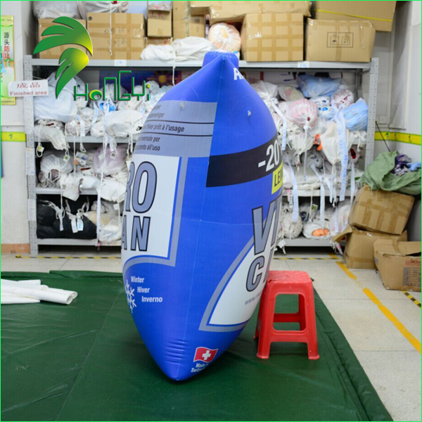 Small Custom Air Bag Shaped Balloons / Inflatable Advertising Bag For Parade Display
