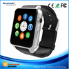 Cheap Price Of Bluetooth Nfc SIM Card Hand Watch Mobile Phone for Apple iPhone & Samsung Android Phone