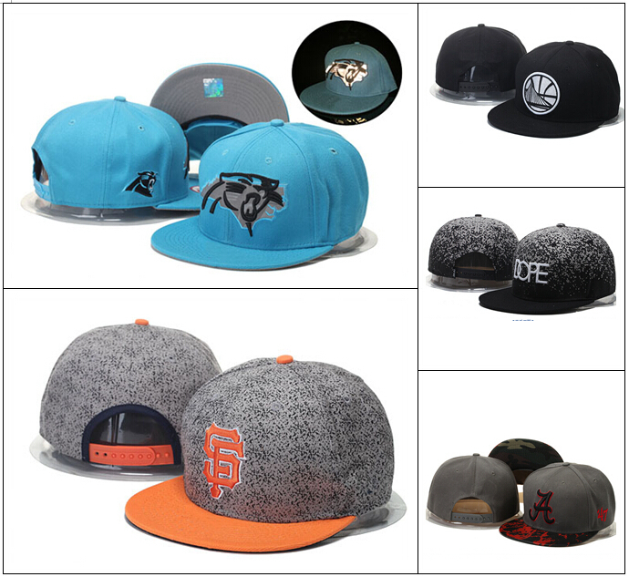 Wholesale Best Quality Basketball Football Baseball Snapback Hats Caps 20 Pcs/lot