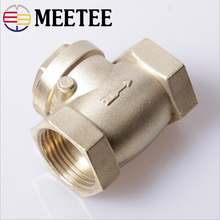 Copper horizontal pump valve water meter check valve