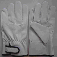 Labor pigskin &Safety protection&Welding protection gloves