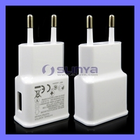White Black 5V 2A USB Wall Charger For Galaxy S4