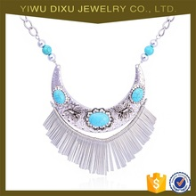 Yiwu fashion jewelry Indian Bohemian light weight antique turkish necklace set