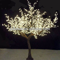 Plastic spiral tree light made in China