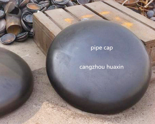 DIN/JIS/BS/SH carbon steel end cap/pipe cap