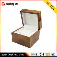 Excellent handmade brown wooden lacquer watches boxes
