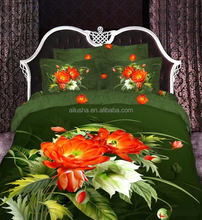 3d boys green flower cotton patchwork quilts indian handmade quilts bed sheet in faisalabad