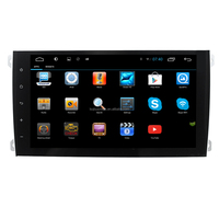 LSQSTAR 9 inch big screen android car dvd radio GPS navigation stereo for Porsche Cayenne