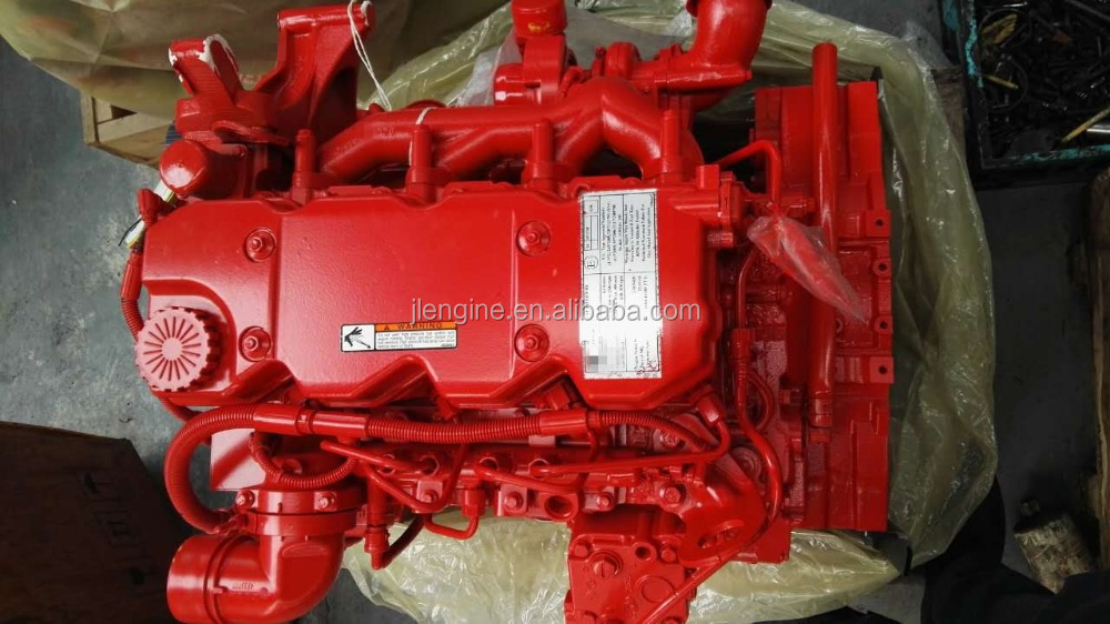 ISBE QSB 4.5L Diesel Engine Assembly for Truck Excavator machinery 4B 6B 6C 6L ISB ISD ISL ISC