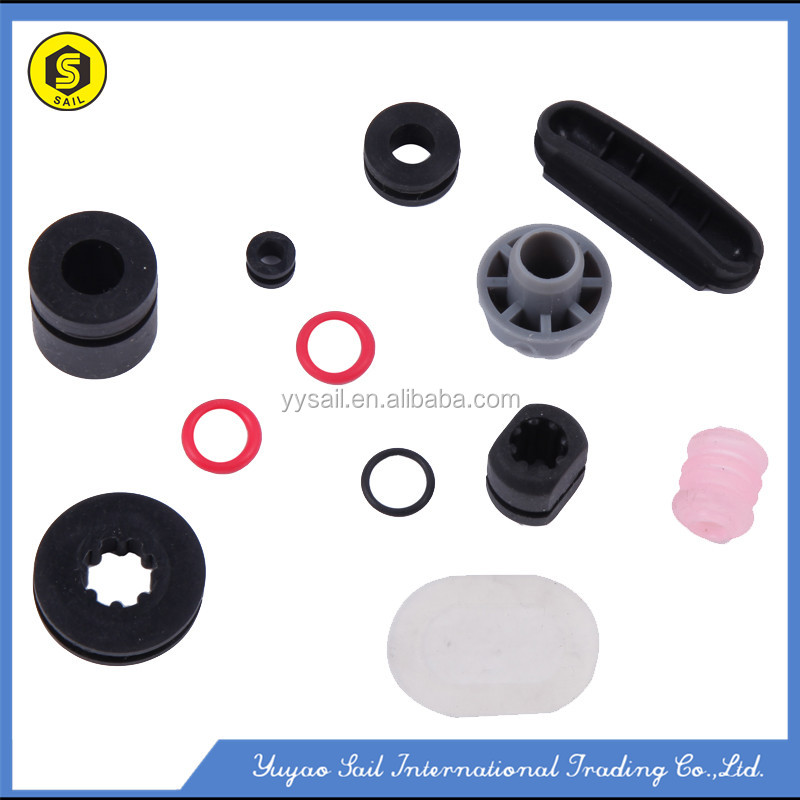 All kind of customized rubber grommet/washer and small hose/seals products with low price