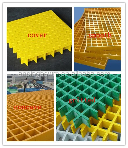 Low price Frp grating for plastic floor grating
