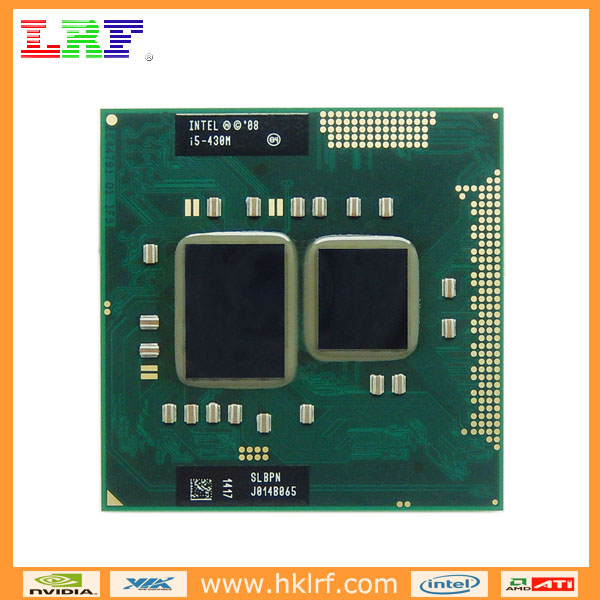 Intel I5-430M SLBPN Electronic Scrap CPU Processor