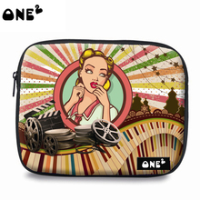 ONE2 design own brand polyester laptop sleeve women bag