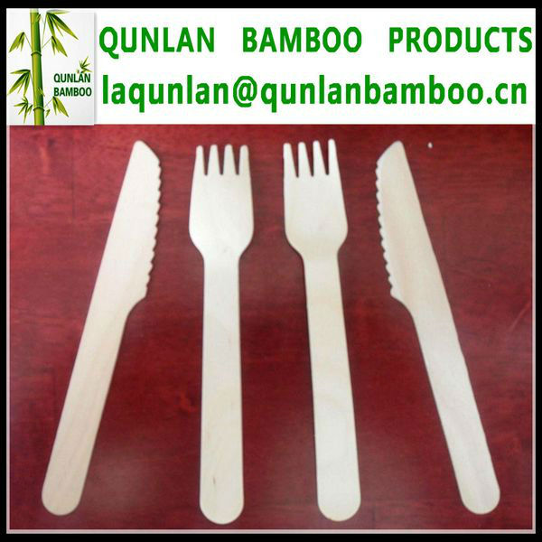 Bamboo Knives and Forks For Sale
